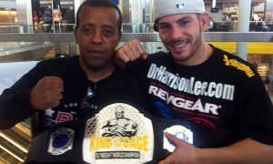 Seb Boxing - Jared Papazian - King of the Cage - Flyweight Champion