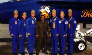 Seb with the Blue Angels